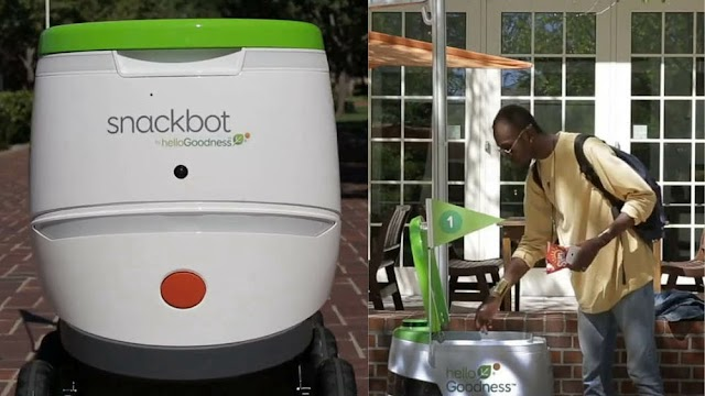 PepsiCo is launching a fleet of robots to bring snacks to college students