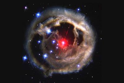انفجار یک ستاره بر پایه نظریه پسر داروین