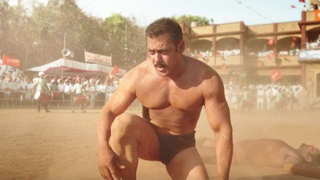 Salman Khan as Wrestler Sultan Ali Khan in Ali Abbas Zafar's Sultan