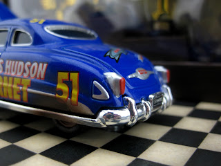 Cars SDCC comic con Exclusive dirt track Hudson Hornet Precision Series Diecast