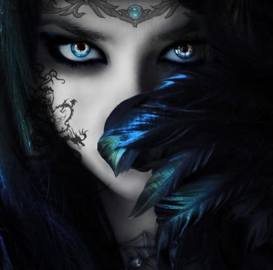 women fantasy eyes blue - photo #1