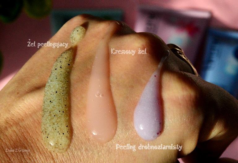 Lirene Dermoprogram - Migdałowy żel myjący, Miętowy żel peelingujący i Peeling drobnoziarnisty recenzja