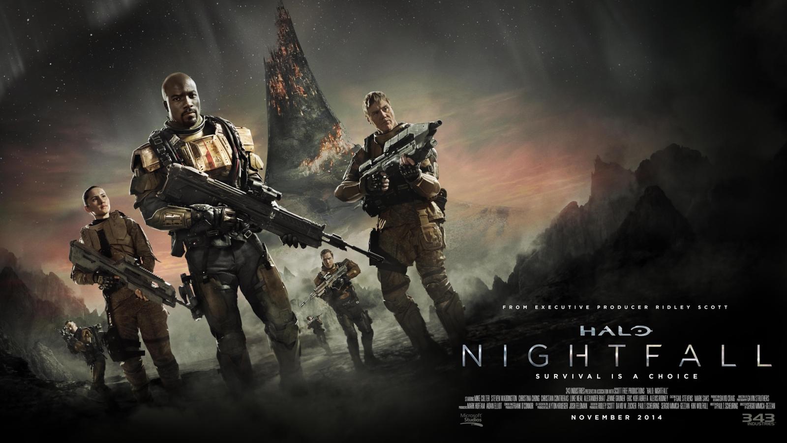 Future War Stories Fws News Feed The Halo Night Fall