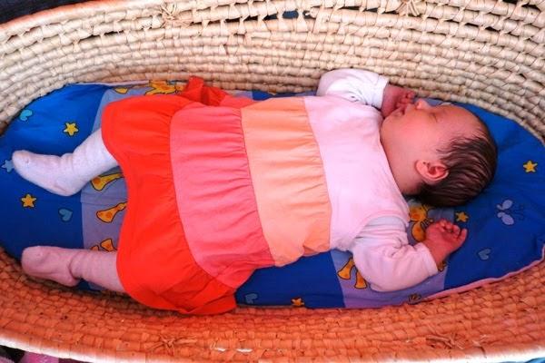 noworodek w koszu mojżesza
