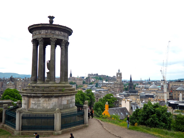 Edinburgh viewpoint from Calton Hill