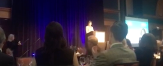 Diana Rauner at Planned Parenthood Gala in Chicago