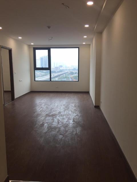Ảnh chụp thực tế căn hộ 2 phòng ngủ 75m2 CT3 Eco green city