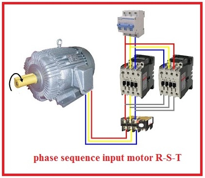 Forward%2BReverse%2BThree%2BPhase%2BMotor%2BWiring%2BDiagram2  Phase Motor Wiring Diagrams Simple Circuit Diagram Of Contactor on
