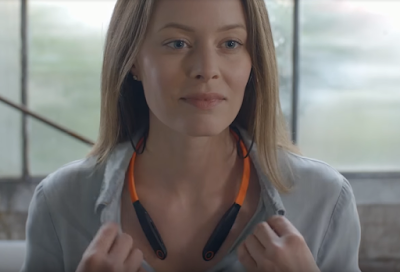 Neckband Headphones - Motorola VerveRider+