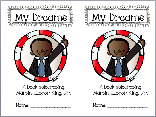 http://firstgradefoundme.blogspot.com/2013/01/martin-luther-king-jr-booklet-freebie.html