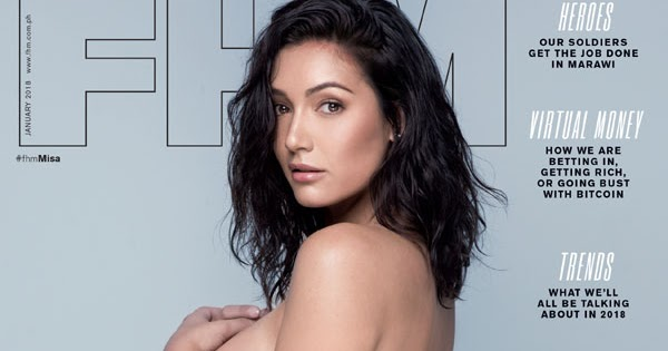 misa campo fhm january 2018 cover girl