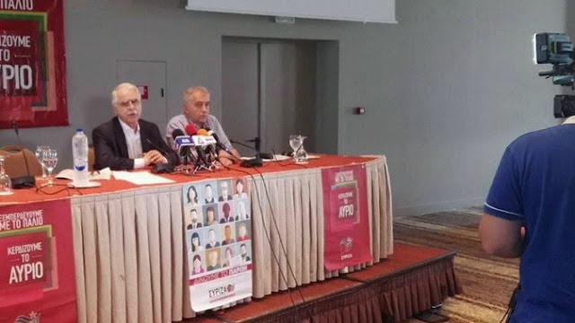 """Μπαλάφας από την Αλεξανδρούπολη: """"Βαμπίρ"""" η διαπραγμάτευση που ρουφούσε ενέργεια από την κυβέρνηση"""