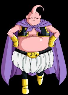 ¡Las patadas de Basil del universo 9 vs Majin Boo del universo 7!