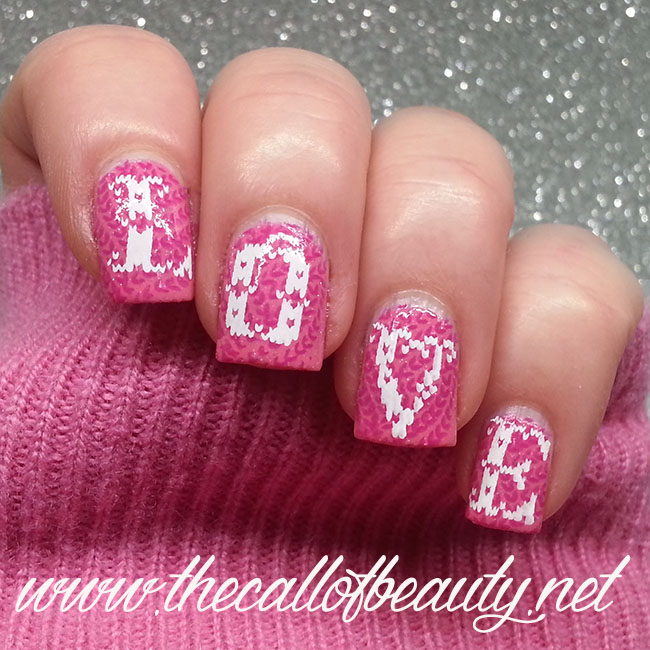 Romantic Knitted Nails