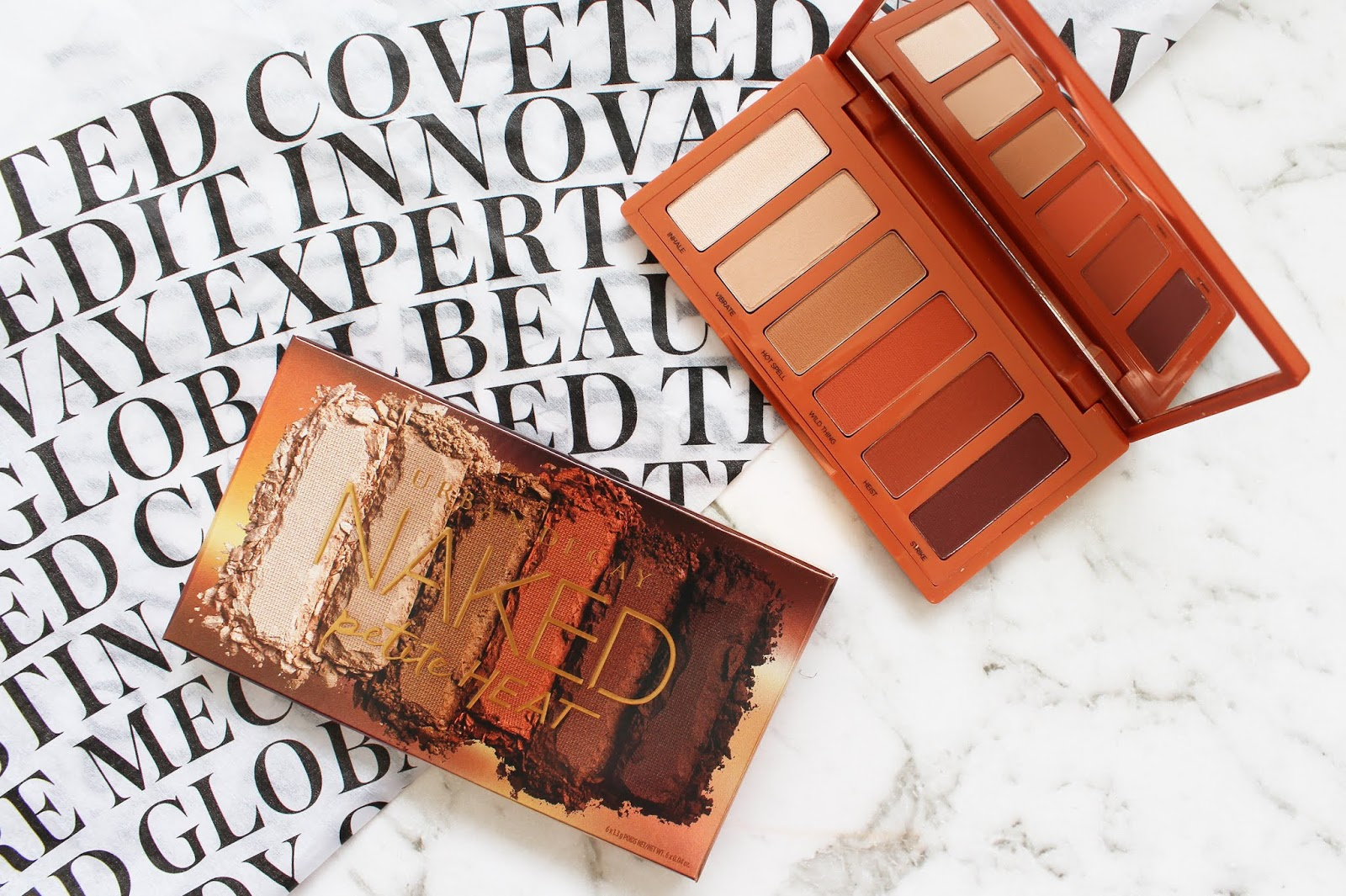 URBAN DECAY | Naked Petite Heat Palette - Review + Swatches - CassandraMyee