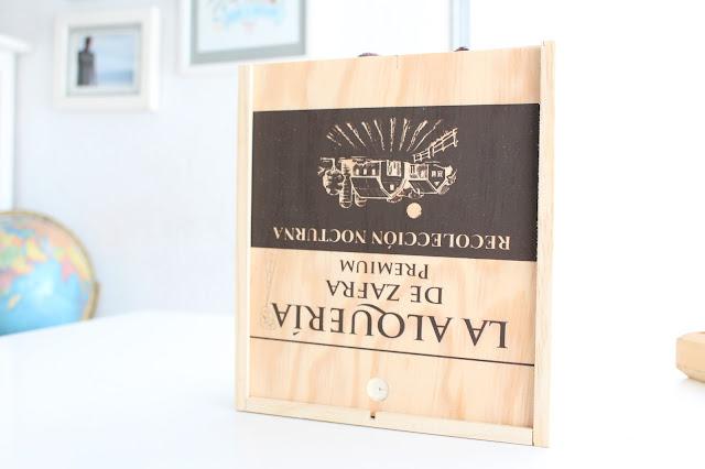 caja de madera almacenaje