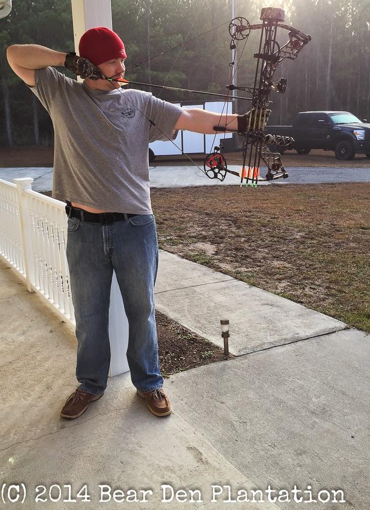 Matthews Bow with Realtree Camo from Bear Den Plantation