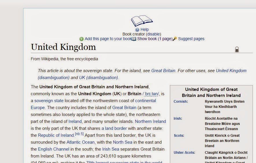 add another page in wikipedia