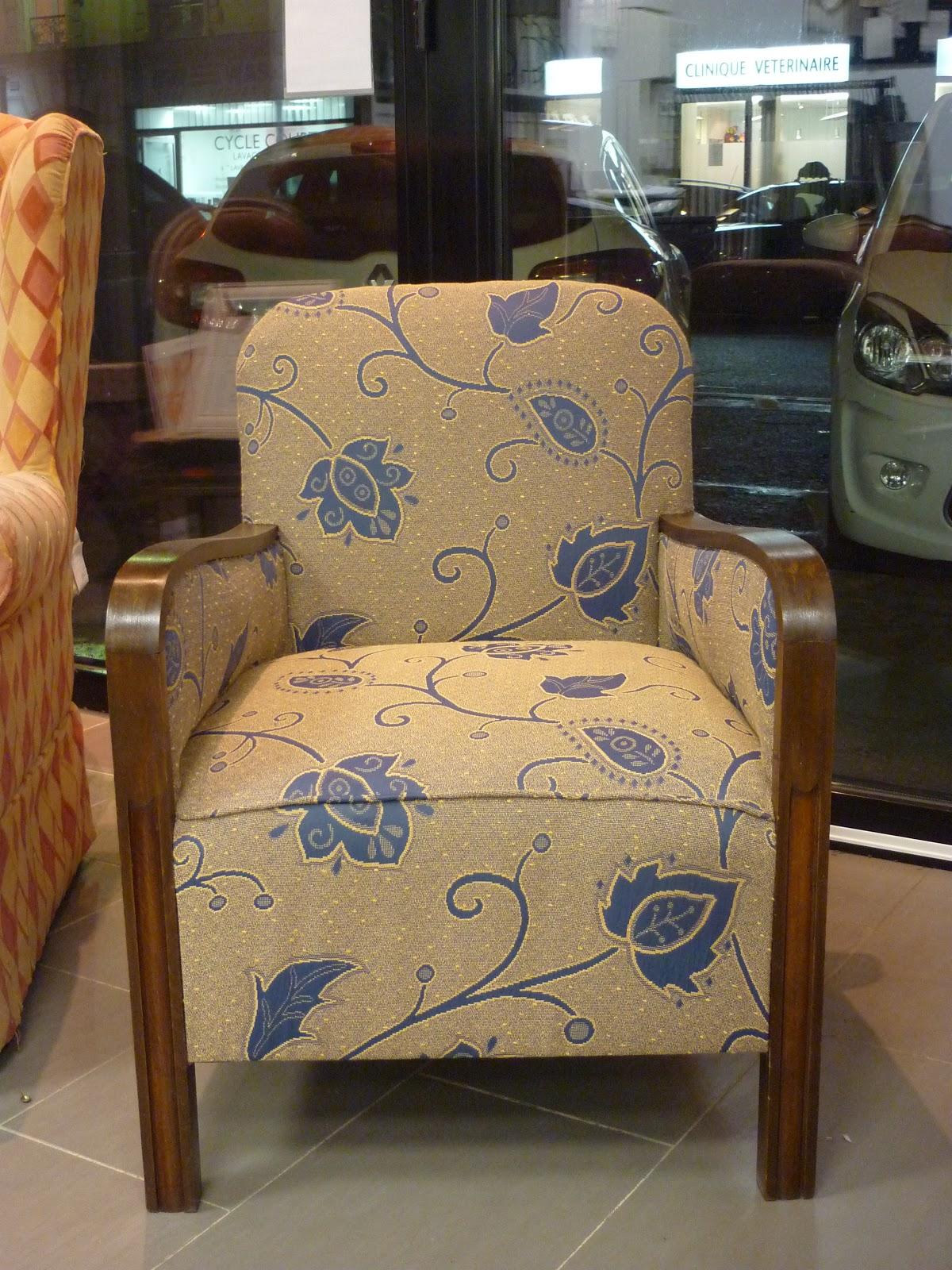 fauteuil des ann es 30. Black Bedroom Furniture Sets. Home Design Ideas