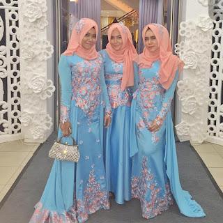 Model Kebaya Gaun Anggun