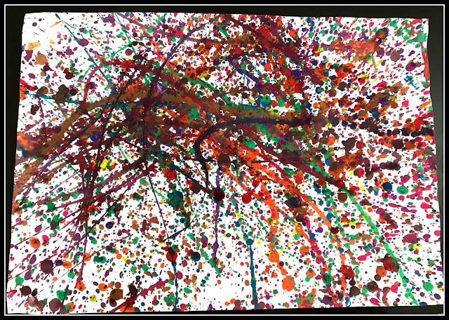 Jackson Pollock pour le enfants