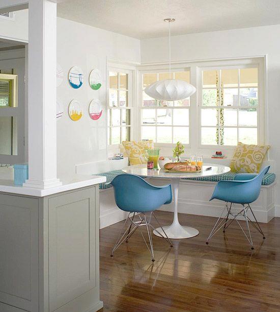 cadeira azul, copa, mesa de jantar, azul serenidade, serenity, decoração, decor, cozinha americana, cozinha aberta