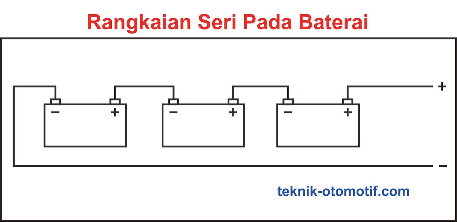 Perbedaan Rangkaian Seri Dan Paralel Teknik Otomotif Com