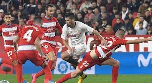 اشبيلية يتغلب على فريق غرناطة في الديربي بثنائية من الدوري الاسباني