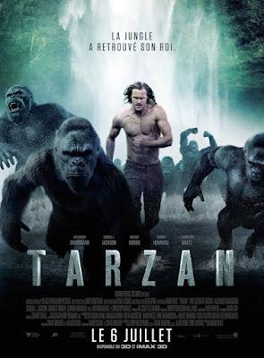 affiche Tarzan 2016