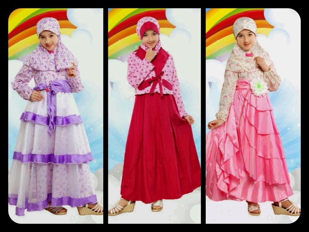 Model Baju Muslim Anak Perempuan Model Busana Muslim Terbaru