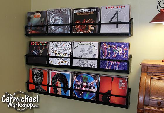 Vinyl Record Storage by The Carmichael Workshop