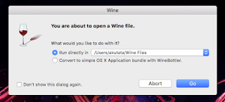 open coreldraw with wine on mac os x