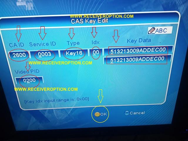 NEOSAT NS 1800 FULL HD RECEIVER BISS KEY OPTION