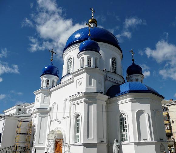 Житомир. Михайлівська вул. Свято-Михайлівська церква