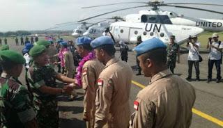 Waduh Pasukan TNI yang mengemban tugas Perdamaian PBB di mali Jadi Target Pemberontak - Commando