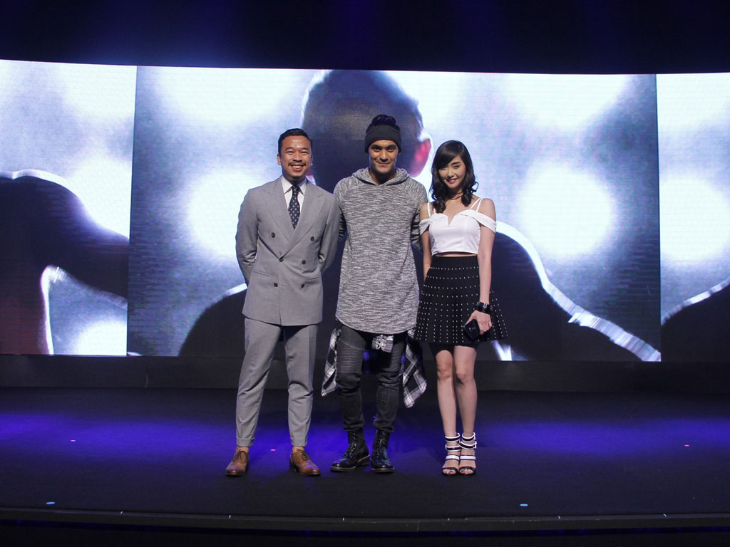 Jason Magbanua Gab Valenciano and Alodia Gosiengfiao as the new ASUS PH Zenfone 3 series ambassadors