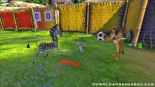 Madagascar Escape 2 Africa [Jtag/RGH] - Download Game Xbox New Free