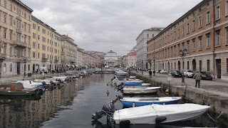 Trieste's Canal Grande has echoes of Venice