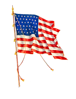 american flag independence clip art