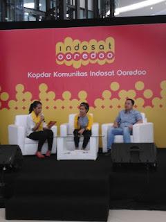 Benny Hutahalung (ICity Indosat Ooredoo) dan Bu Handrini Novi, (Head of BrandingIndosat Ooredoo)