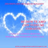 reflexion de amor a Dios