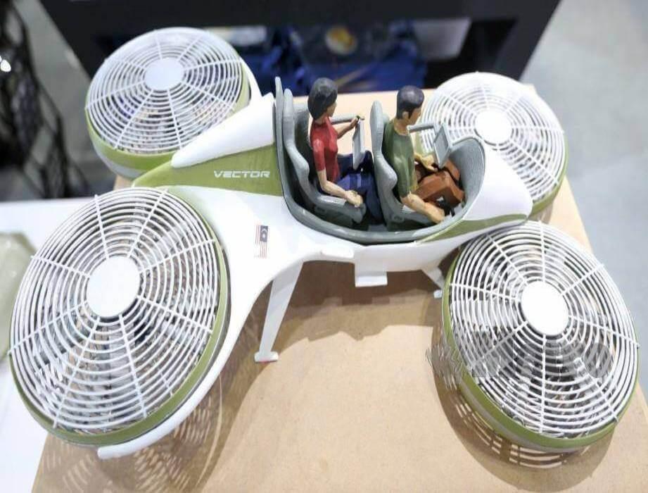 Vector Kereta Terbang Malaysia