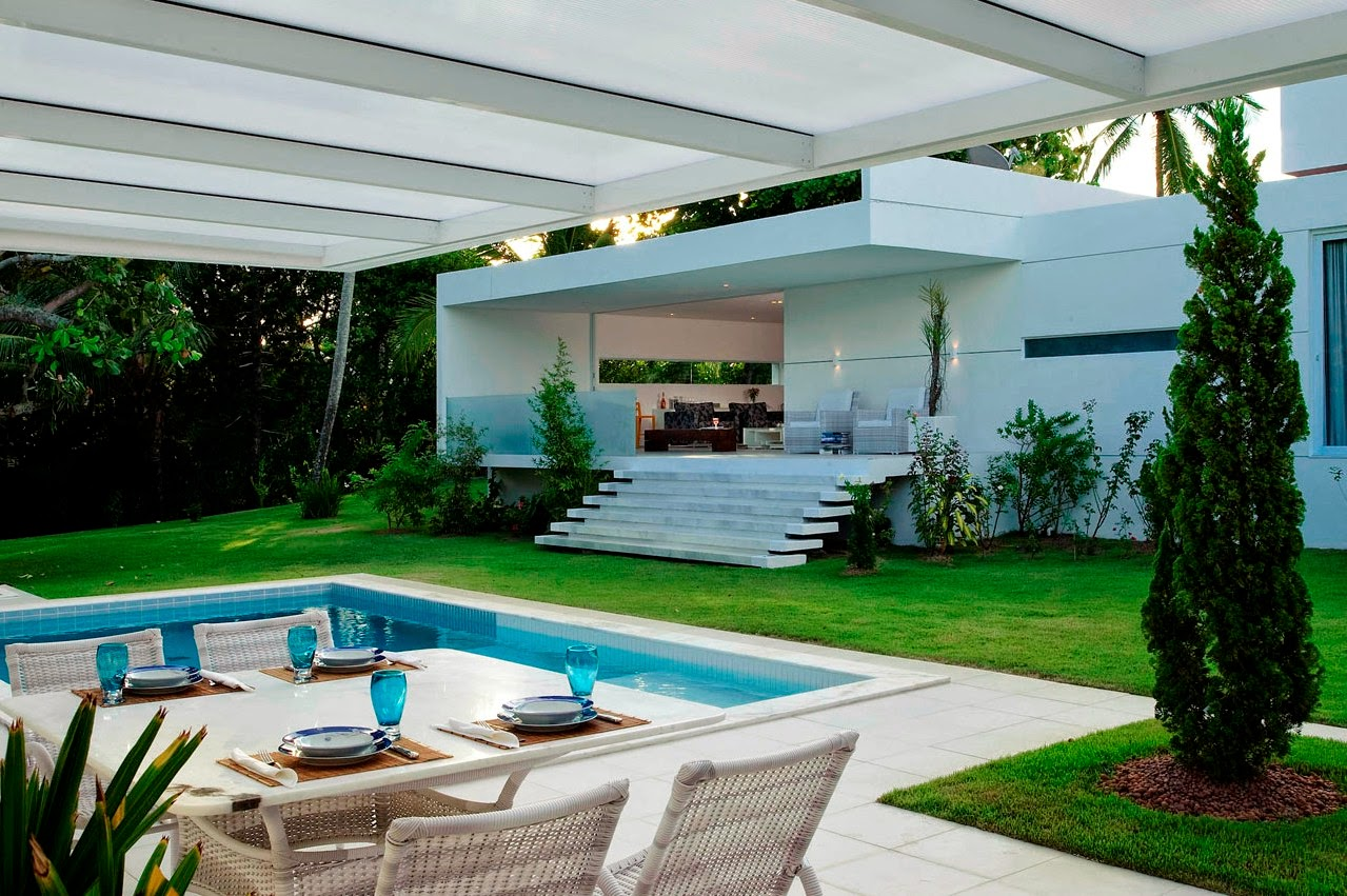 Pictures Of Simple Backyard Landscaping Ideas with Pool