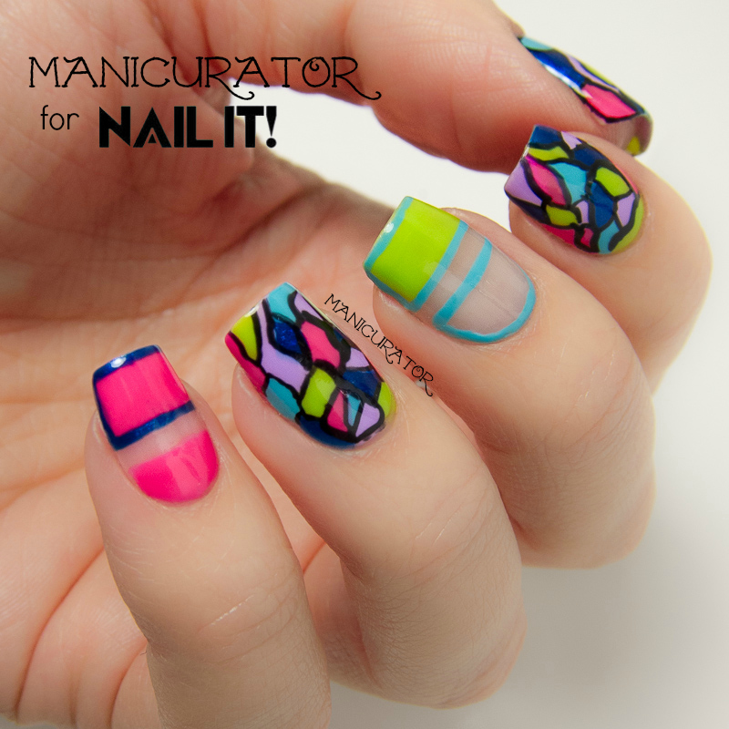 Kiss Products Freehand Mosaic Nail Art for Nail It ...