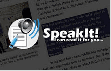SpeakIt! extension for Google Chrome web browser