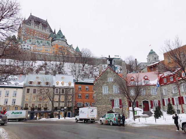 Château Frontenac in Québec City, Canada