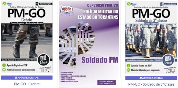 Apostila concurso da PM Tocantins 2018 - Soldado PM.