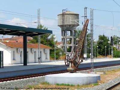 Na stacji w Katerini
