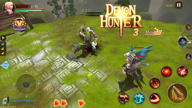 Demon Hunter MOD APK + OBB Hack Modded