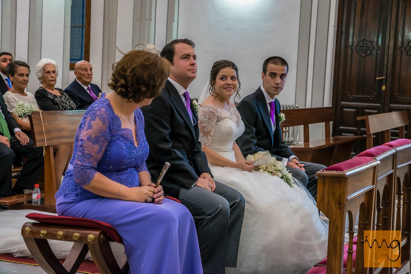 Fotografía de boda, en la ceremonia